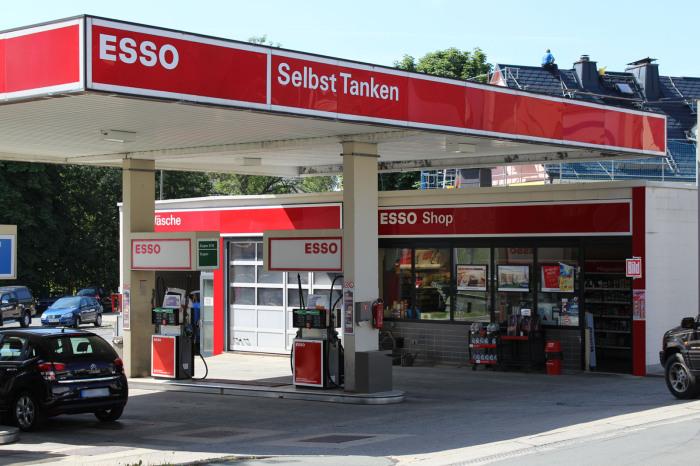 Esso Tankstelle Bad Steben